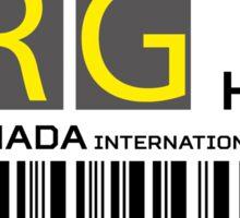 Destination Hurghada Airport Sticker