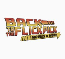 Back To The Flick Pick  Kids Tee
