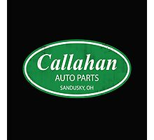 Callahan auto parts distressed Photographic Print