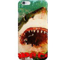 Cape Cod Shark Attack iPhone Case/Skin