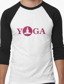Yoga Men's Baseball ¾ T-Shirt