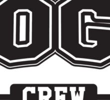 Yoga crew Sticker