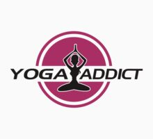 Yoga addict Kids Clothes