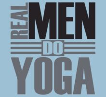 Real men do yoga One Piece - Short Sleeve