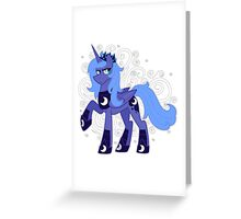 Rule 63 Princess Luna (Prince Artemis) Greeting Card