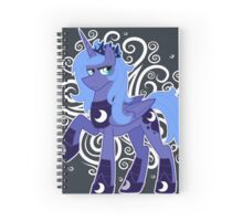Rule 63 Princess Luna (Prince Artemis) Spiral Notebook