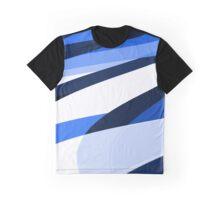 blu slant Graphic T-Shirt