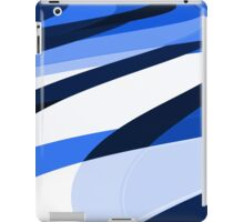 blu slant iPad Case/Skin