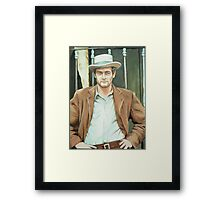 Paul Newman Framed Print