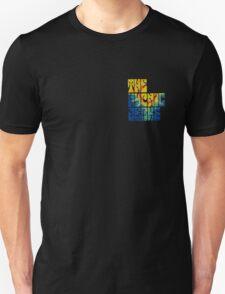 Hypnic Jerks Official Logo (Black Only) Unisex T-Shirt