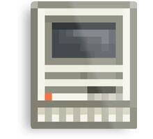 Pixel Mac SE Metal Print