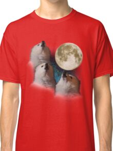 Gabe the Dog - Three Gabe Moon Classic T-Shirt