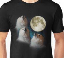 Gabe the Dog - Three Gabe Moon Unisex T-Shirt