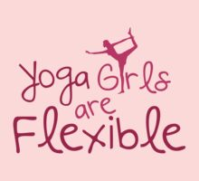 Yoga girls are flexible by nektarinchen