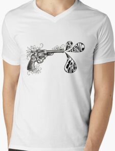 Hypnic Revolver Mens V-Neck T-Shirt