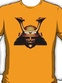 Gold Kabuto (Samurai helmet) T-shirts and Stickers T-Shirt