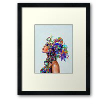 Mixing Reality Framed Print