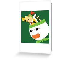 The Prince of Koopas Greeting Card