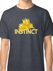 Stylized Team Instinct Print Classic T-Shirt