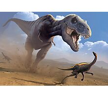 Cretaceous Showdown Photographic Print