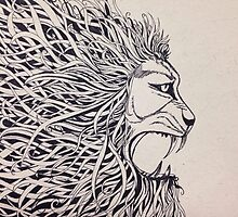 Lion by Ankitameera
