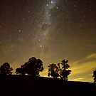 Milky Way at Dusk by diggle