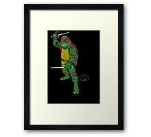 TMNT Raph Art Framed Print