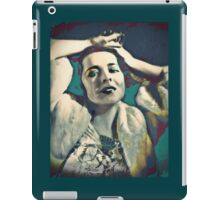 Colleen in White Fur iPad Case/Skin