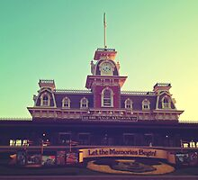 Let The Memories Begin - Magic Kingdom Disneyworld by dsmithonline
