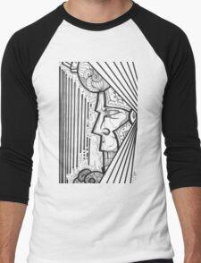 KING COOL Men's Baseball ¾ T-Shirt