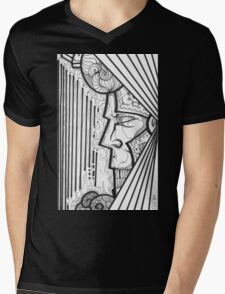 KING COOL Mens V-Neck T-Shirt