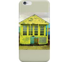 beach hut iPhone Case/Skin