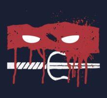Teenage Graffiti Red Mask Kids Tee
