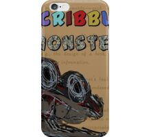 Scribble Monster iPhone Case/Skin