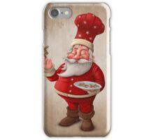 Santa Claus pastry cook iPhone Case/Skin