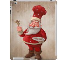 Santa Claus pastry cook iPad Case/Skin