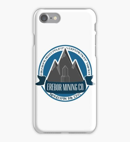Erebor Mining Company iPhone Case/Skin