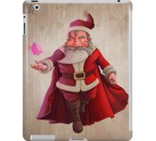 Santa Claus Super Hero iPad Case/Skin