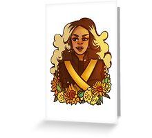 Superbowl Formation Greeting Card