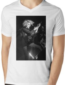 St. Vincent B&W Mens V-Neck T-Shirt