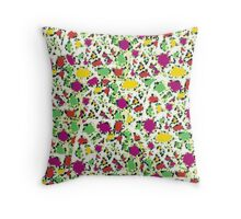 Fruit Tingle Mingle Throw Pillow