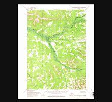 USGS TOPO Map Alaska AK Taylor Mountains D-1 359872 1954 63360 Unisex T-Shirt