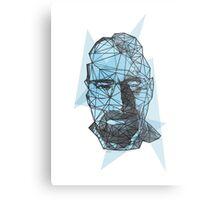 Breaking Bad Walter White Crystal Blue  Metal Print