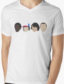 Lucas, Dustin, Mike & El Mens V-Neck T-Shirt