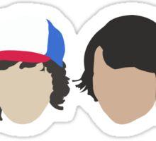 Lucas, Dustin, Mike & El Sticker