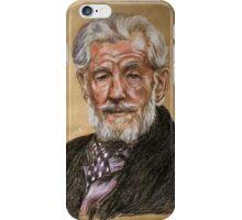 Sir Ian McKellen  iPhone Case/Skin