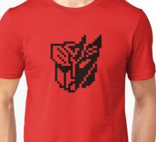 Hollow 8-bit Transformers Joined Unisex T-Shirt