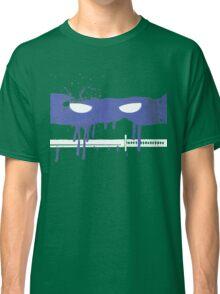 Teenage Graffiti Blue Mask Classic T-Shirt
