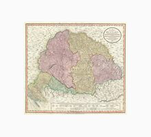 Vintage Map of Hungary (1799) Unisex T-Shirt