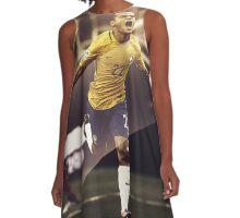 Philippe Coutinho - Brazil A-Line Dress
